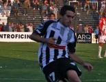 Lisandro Alzugaray, autor del gol albinegro.