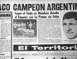 Tapa de El Territorio del 17 de diciembre de 1968