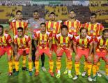 El equipo que presentó Sarmiento ante Boca Unidos. Federico León reemplazará a Berlo