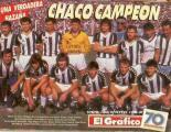 For Ever el día de su ascenso a primera división un 28 de mayo de 1989