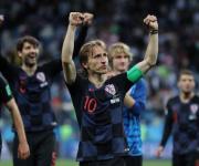 Modric es pura alegria. Croacia paseó a la Argentina