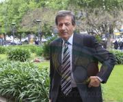 Raúl Gamez, presidente del Fortín de Liniers.