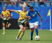 Marta consiguió marcar en el quinto mundial, pese a la derrota de Brasil
