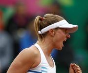 vencer a la kazaja Yulia Putintseva por 6-3, 1-6 y 6-2