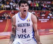 Gabriel Deck con la Selección Argentina llegaría a la NBA