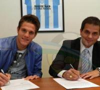 Gastón Cogorno reapareció en la firma del contrato de Bruno Zuculini, pero por la noche terminó dando un paso al costado.