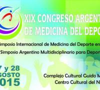 afiche del Congreso de medicina deportiva