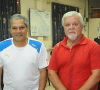 Carlos García y Juan Valentín González