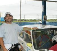 """""""Maxi"""" Galarza  correrá con su padre  Fernando """"Chino"""" Galarza,   representando a Formosa  en el TC 4000."""