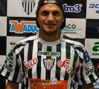 Diego Magno, viene de Sol de América. Es un goleador nato.