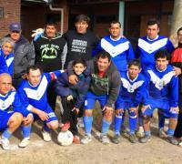 El equipo de Maxi A de Barranqueras