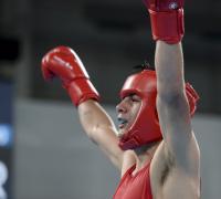 Brian Arregui, oro en boxeo