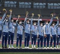 Los Pumas 7 lograron el bronceen Tokyo