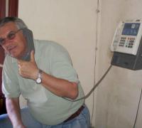Ricardo Carballa, fallecido anoche en Miramar.