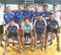 Los integrantes del equipo de Chicos Argentinos.