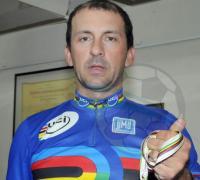 Rolando Ahumada triunfó en el Velódromo de Resistencia