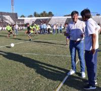 Cierre de la Copa Futuro con Gustavo Martínez