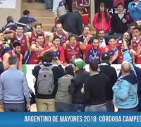 Córdoba recibe la copa de campeón