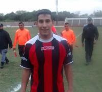Gastón Martínez Cortés, autor del gol de la victoria de Juventud.