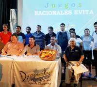 El lanzamientode los Juegos Evita en Corzuela