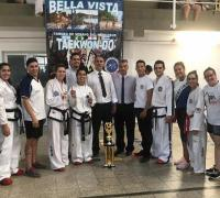 Taekwondistas de la  Escuela de Taekwondo Shi-Jak, de Resistencia y Machagai