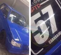 El auto con el que correra Lucas Carabajal en la clase 1 del TP