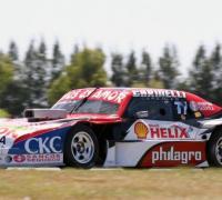 Augusto Carinelli en pista