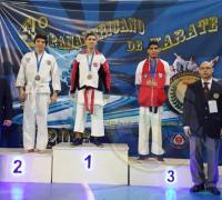 Carlos Broggi fue medalla de plata en kumite