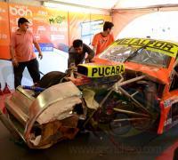 Jonatna Castellanos e quedará fuera de competencia por las lesiones sufridas.