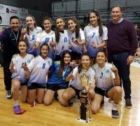 Las jugadoras de Chaco Vial, flamantes campeonas.