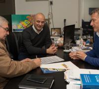 Convenio de lotería Chaqueña con el club Central  Itín