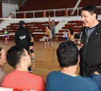 Mario Delgado y el deporte