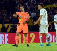 Diego Ceballos estaba parado desde el 4 de noviembre por su pésimo arbitraje en la final de la Copa Argentina.