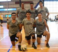 Uno de los equipos que participaron en el Deporte de tu lado