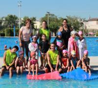 De las clases de natación participaron a lo largo de la temporada alrededor de 3000 personas, entre ellos niños, jóvenes, adultos mayores y personas con discapacidad.