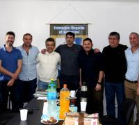 Directivos de la FCHB, que tiene como nuevo presidente a Gustavo Rath