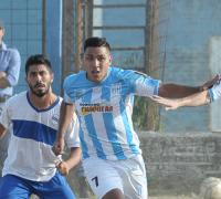 Nicolás Marangoni, marcó los tres goles de Fontana