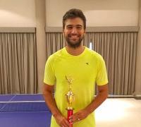 Gastón Codina, ganador en Asunción