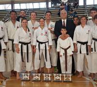 Equipo de Karate de Chaco en Río Negro