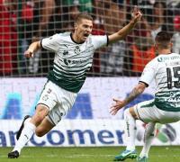 Julio Furch, el gol de Santos Laguna