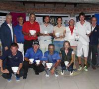 Todos los ganadores de la duodécima fecha del Federativo de Golf.