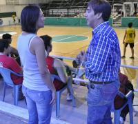 Gustavo Martínez puso en funciones a la gerente Magdalena Montiel.
