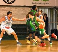 Santiago Ferreyra en acción. El mejor del verde