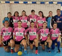 eQUIPO FEMENINO DE FOR EVER CAMPEÒN EN PRIMERA DE HANDBALL