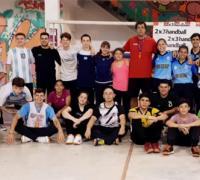 Curso para arqueros de de Handball