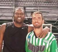 Kenny Jones y Mauro Coronel