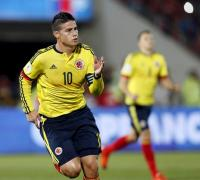 James Rodríguez anotó un gol de jerarquía y salvó a los cafeteros.