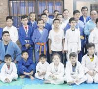 Alumnosde judo del IDCh