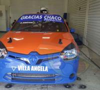 El auto de Damian Kirstein en boxes