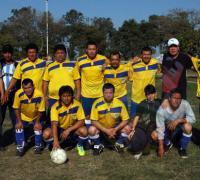 Equipo de Los Pumas que fue superado por el campeón Villa Rica en categoría juniors.